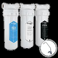 Фильтр SVOD-BLU для жесткой водопроводной воды 3-MCR (k) + кран для очищенной воды