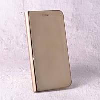 Чехол-книжка Clear Mirror для Samsung Galaxy S8 (G950) gold