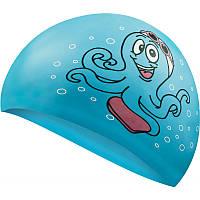 Шапочка для плавания детская Aqua Speed Kiddie Octopus 7216 (original) для бассейна, силикон