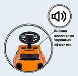 Машинка каталка толокар c родительской ручкой и ограничителем JOY 808 W-5566, фото 2