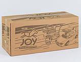 Машинка каталка толокар c родительской ручкой и ограничителем JOY 808 W-5566, фото 3