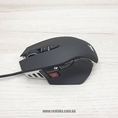 Мышка оптическая проводная CORSAIR M65 ELITE (Black), фото 2