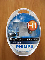 Галогенка H1 PH 12V 55W 12258BVSM BlueVision (компл.)