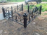 Кованая оградка на могилку