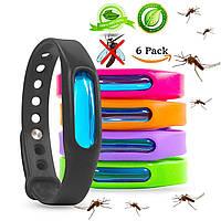 Набор Браслетов для Защиты от Комаров и Насекомых 5 в 1