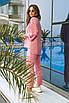 Женский спортивный костюм Фрезовый, фото 2