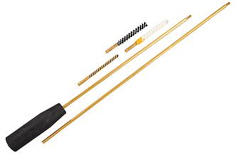 Набор для чистки оружия 4,5 мм ПВХ упаковка (три насадки: латунь, синтетика, пуховик)