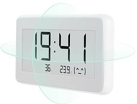 Годинник термометр-гігрометр Xiaomi MiJia E-Ink Temperature & Humidity Electronic Monitor EAN/UPC: