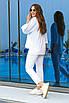 Женский спортивный костюм Белый, фото 2
