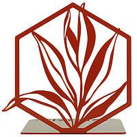 Упоры для книг Glozis G-043 15х15 см Terra Copper, КОД: 1807472
