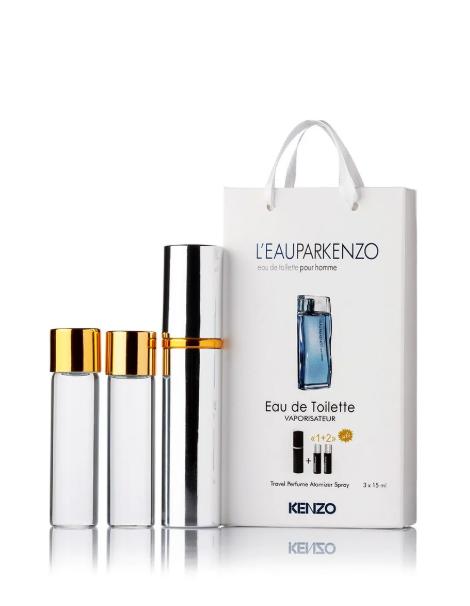 Мужской мини парфюм Kenzo L`Eau Par Kenzo Pour Homme,  3*15мл