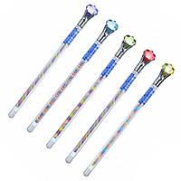 Ручка гелевая Sultani Diamond 0.7мм с кристалом ST-5547