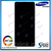 Дисплей Samsung A217 Galaxy A21S Чёрный Black GH82-22988A  оригинал!