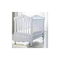 Кроватка Baby Italia Emily White 131,5х84 білая/бук