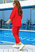 Женский спортивный костюм Красный, фото 2