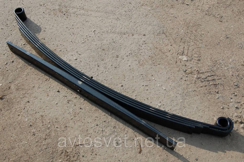 Рессора задняя МАЗ 4370 4-листовая c подрессорником L=1800 (производитель Чусовая) 4370-2912012