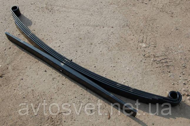 Рессора задняя МАЗ 4370 4-листовая c подрессорником L=1800 (производитель Чусовая) 4370-2912012, фото 2