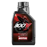 Масло моторное MOTUL 300V 4T 10W40 100% синтетика 1 литр, фото 1