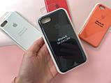 Чехол накладка xCase для iPhone 7/8 Silicone Case Full black, фото 2