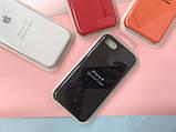 Чехол накладка xCase для iPhone 7/8 Silicone Case Full black, фото 3