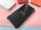 Чехол накладка xCase для iPhone 7/8 Silicone Case Full black, фото 6