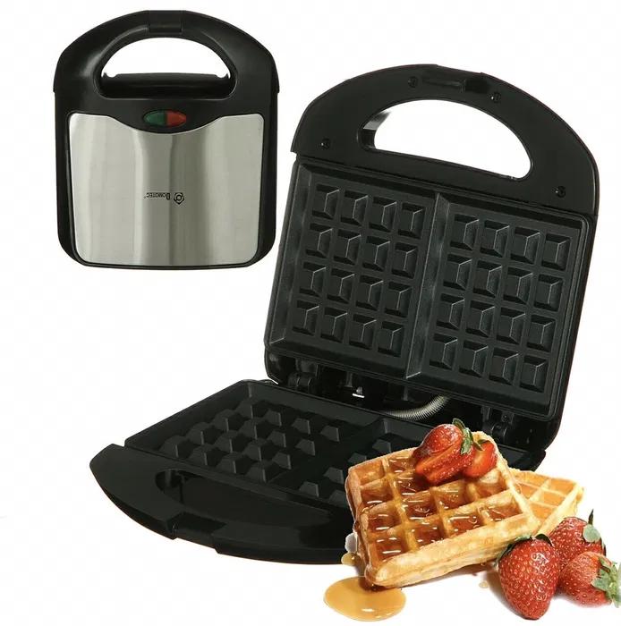 Электрическая вафельница с атипригарным покрытием Domotec MS 0505