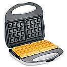 Электрическая вафельница с атипригарным покрытием Domotec MS 0505, фото 2