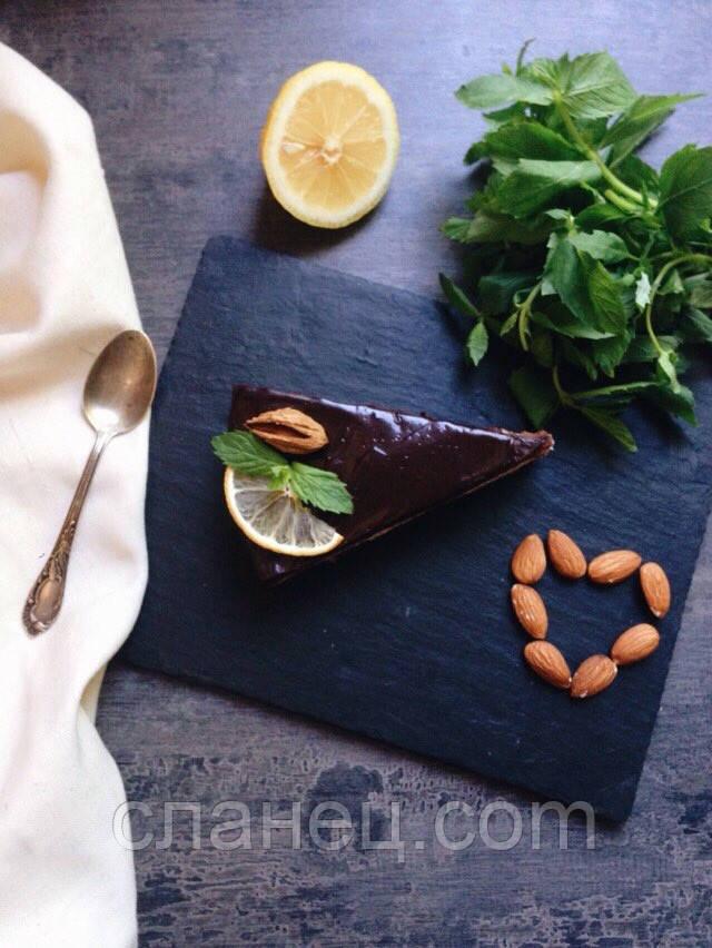 Блюдо для подачи 22х14,5 см; сланец