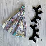 Хлопковая косынка размер   56- 58 см, фото 2