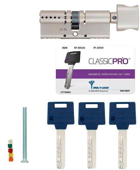 Цилиндр Mul-T-Lock Classic PRO ключ/поворотник фото