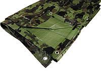 Камуфляжный тент  4х6 м  плотность 90 г/м²  с люверсами