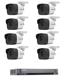 Комплект TurboHD видеонаблюдения Hikvision KIT-DS248