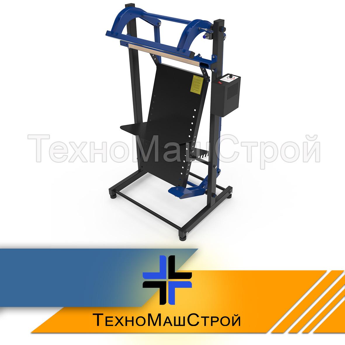 Импульсный напольный запайщик пленки с ножным приводом ЗМ-500