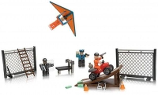 Набор Jazwares Roblox Environmental Set Jailbreak: Great Escape W5