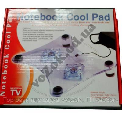 Подставка для ноутбука  Notebook Cool Pad для охлаждения ноутбука - Торговая площадка «voZok» ТП «воЗок» в Одессе