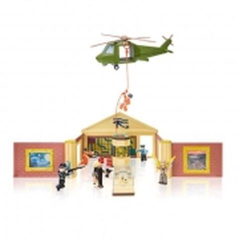 Набор Jazwares Roblox Deluxe Playset Jailbreak: Museum Heist W6
