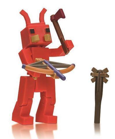 Игровая коллекционная фигурка Jazwares Roblox Соге Figures Booga Booga: Fire Ant W5