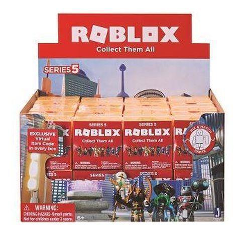 Игровая коллекционная фигурка Jazwares Roblox Mystery Figures Industrial S5