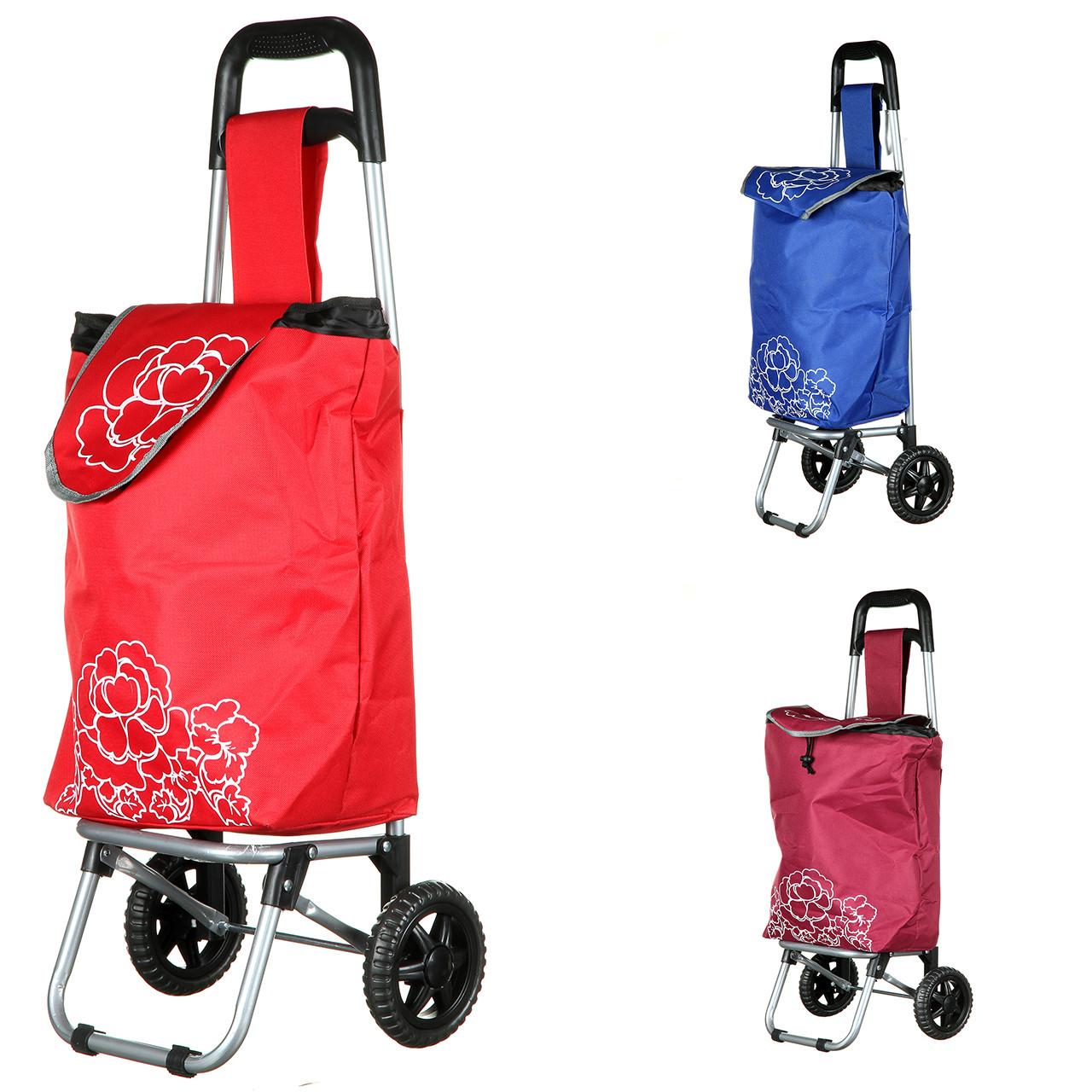Сумка візок на колесах STENSON 85 см господарська для покупок