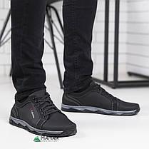Мужские кроссовки черная подошва, фото 2