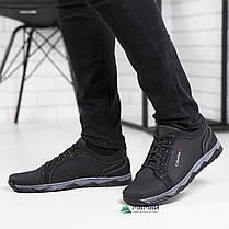 Мужские кроссовки черная подошва, фото 3