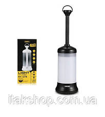 Лампа для кемпинга Remax Light RT-C05 Фонарь с магнитом Black, фото 2