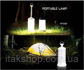 Лампа для кемпинга Remax Light RT-C05 Фонарь с магнитом Black, фото 3