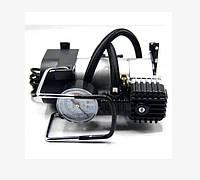Автомобильный насос ручной автомобильный с манометром AIR COMRPRESSOR SINGLE BAR GAS PUMP, фото 1
