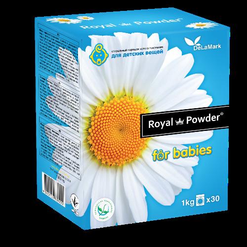 DeLaMark Стиральный порошок Royal Powder Baby 1кг