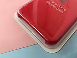 Чохол накладка xCase для iPhone 11 Pro Silicone Case Full червоного кольору, фото 3