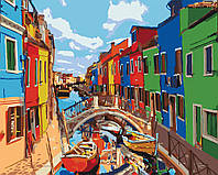 Картина по номерам Краски города, 40x50 см., Идейка
