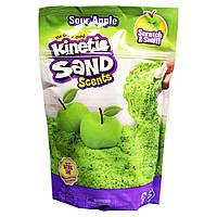 Песок для детского творчества с ароматом - KINETIC SAND КАРАМЕЛЬНОЕ ЯБЛОКО (71473A), фото 1