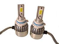 Автомобильные лампы | Комплект автомобильных LED ламп C6 в туманки 9006