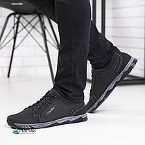 Мужские кроссовки черные, фото 2